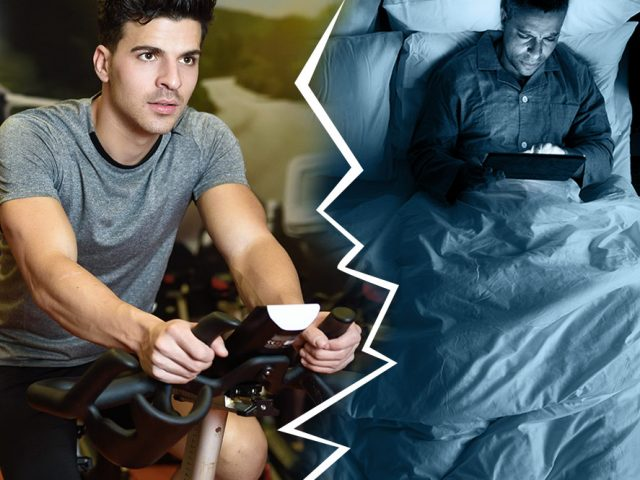 Bezsenność i zaburzenia snu a wieczorne ćwiczenia