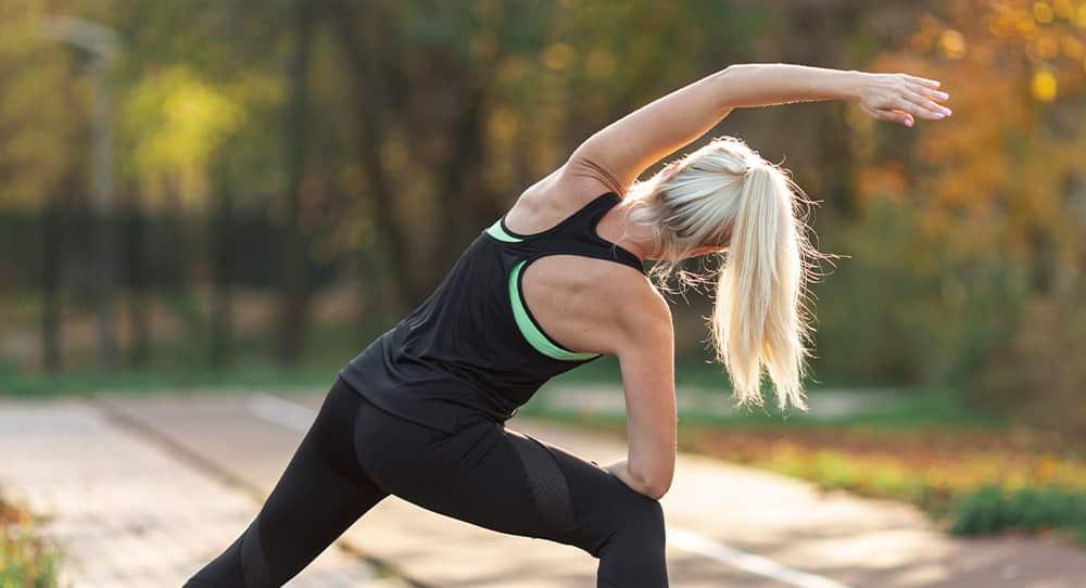 Stretching pozwala rozciągnąć przykurczone mięśnie
