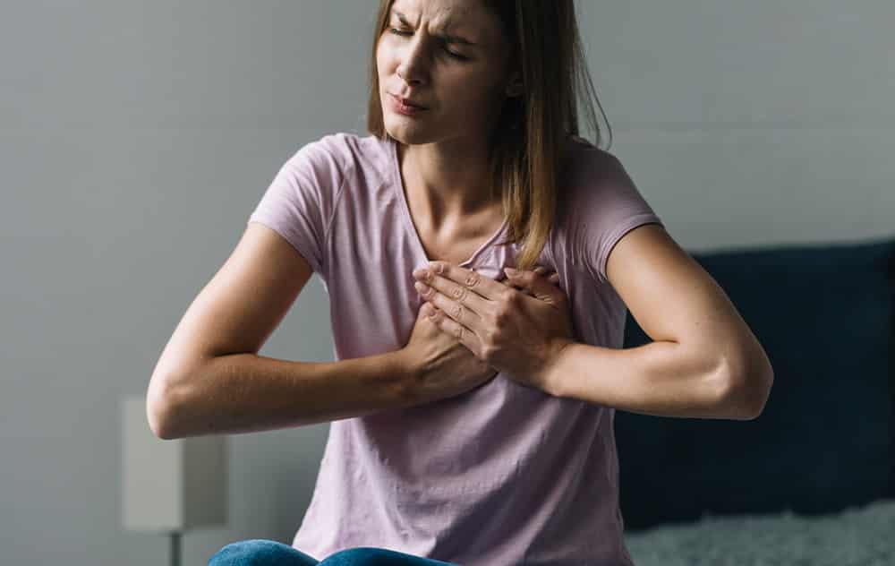 Ból w klatce piersiowej – przyczyny
