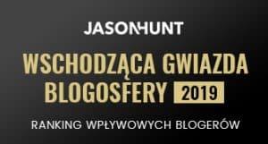 Wyróżnienie w rankingu najbardziej wpływowych blogerów w Polsce w 2019 roku
